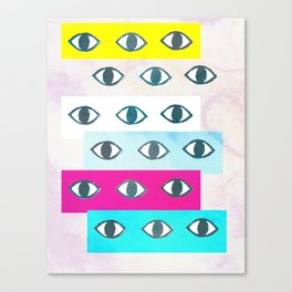 Eye Eye Canvas Print