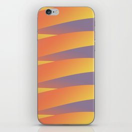 Pastel Abstract Tiger iPhone Skin