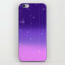 Wish Upon A Falling Star iPhone Skin