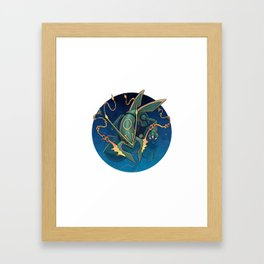 Sky High Framed Art Print