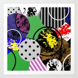 Bits And Pieces V Art Print