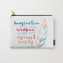 Alice In Wonderland | Quote 1 Carry-All Pouch