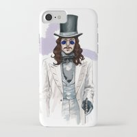 dracula iPhone & iPod Cases featuring Dracula by Myrtle Quillamor