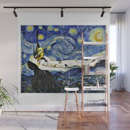 Night Gogh and Gauguin Wall Mural