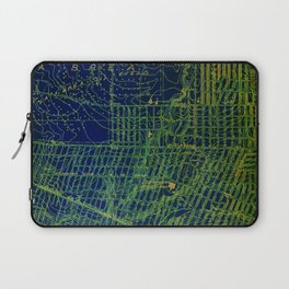 Holywood old map year 1924, usa old maps, american maps for home decoration Laptop Sleeve