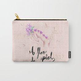 A flor de piel Carry-All Pouch