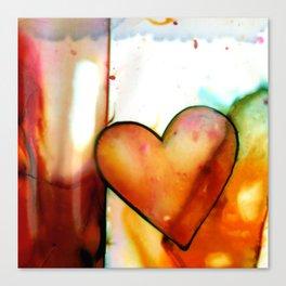 Heart Dreams 1 by Kathy Morton Stanion Canvas Print