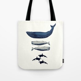Whale Counting 123  Tote Bag