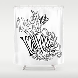 Chainsmokers+Roses Shower Curtain