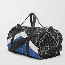 Arrows - Black Granite, White Marble & Blue Granite #227 Duffle Bag