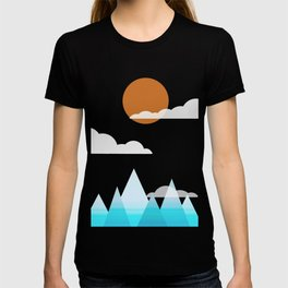 Sun, Clouds and Mountains T-shirt
