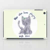 mini iPad Cases featuring mini by miba