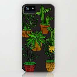 Plants and vases iPhone Case