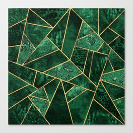 Deep Emerald Canvas Print