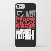 math iPhone & iPod Cases featuring It's Math by Chris Piascik