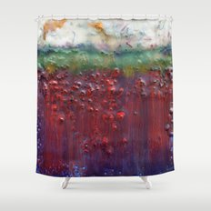 Colors of the Season (christmas abstract) Shower Curtain
