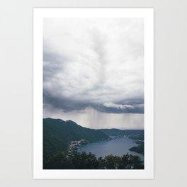 lake como, i Art Print