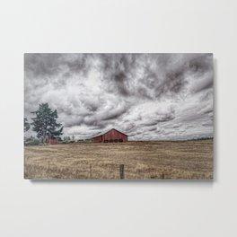 Rural Oregon Metal Print