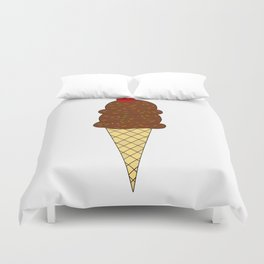 Two Scoops Duvet Cover