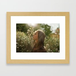 Alycia Debnam carey Framed Art Print