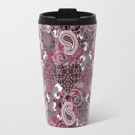 Mature Bush of Pink Love Travel Mug