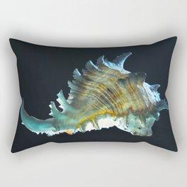 Giant Murex in Moonlight Rectangular Pillow