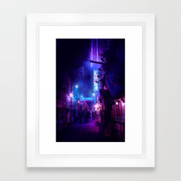Tokyo Nights / Midnight City / Liam Wong Framed Art Print