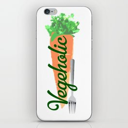 Vegeholic iPhone Skin