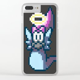 Pixel Angel Ogura Clear iPhone Case