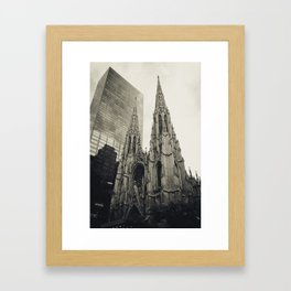 New York: Old and New Framed Art Print