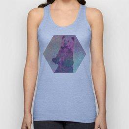 Bear Nebula (brown bear in the stars) Unisex Tank Top