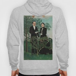 The Past and the Present, or Philosophical Thought - Henri Rousseau Hoody