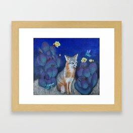 """Foxie"" Framed Art Print"