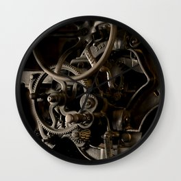 Industrial movement Wall Clock