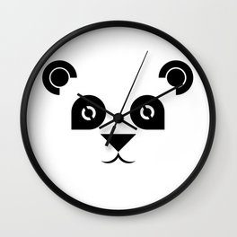 Panda time Wall Clock