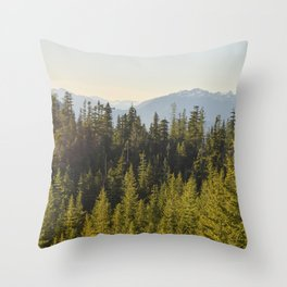Squamish, BC Throw Pillow