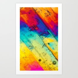 Thin Section X Art Print