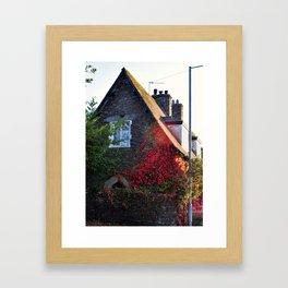 Stone Cottage Framed Art Print