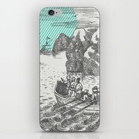 pirates iPhone & iPod Skins featuring Pirates by Zeke Tucker