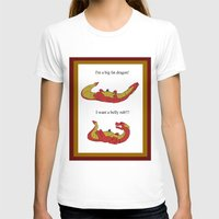 smaug T-shirts featuring Whiny Smaug by Rshido