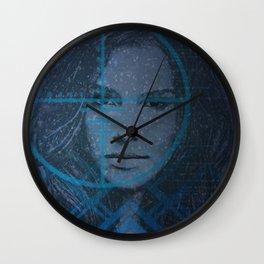 Cyber Snow Queen 1 Wall Clock