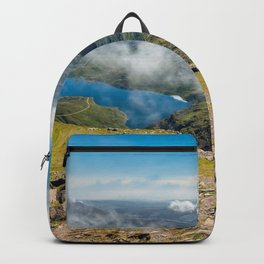 Crib Goch Snowdonia National Park Wales Backpack