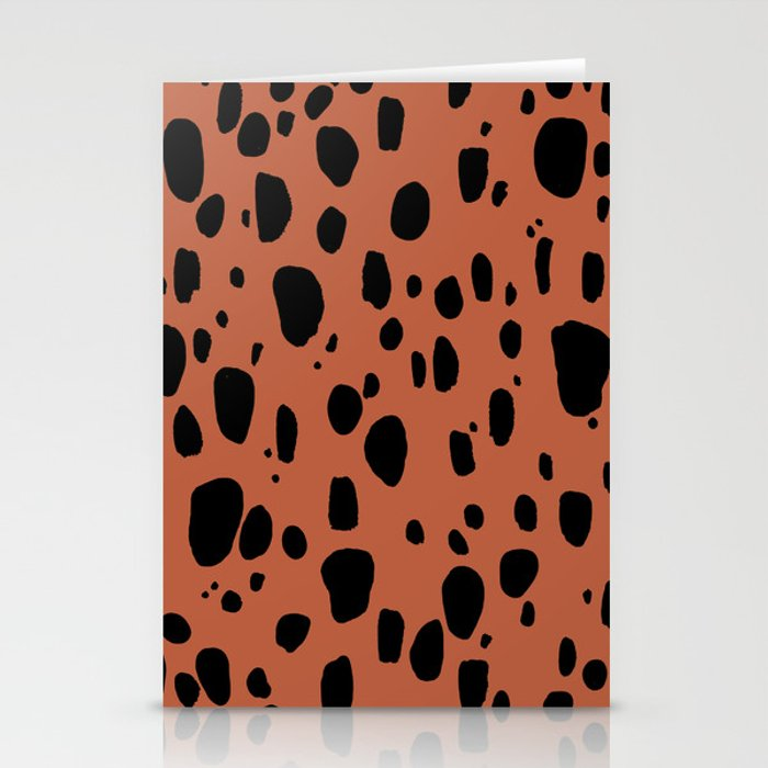 Earth Cheetah Animal Print Stationery Cards