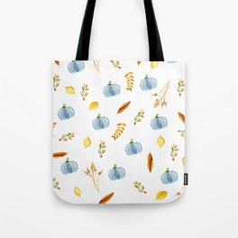 My Blue Pumpkin Tote Bag