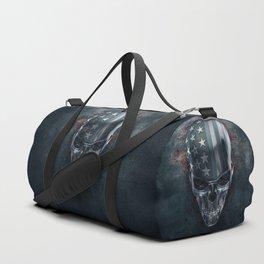 American Horror in Metal Duffle Bag