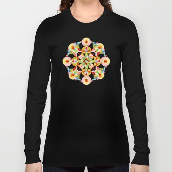 Kaleidoscope Fiesta Long Sleeve T-shirt
