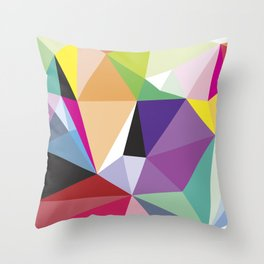 Kalidoscope Throw Pillow
