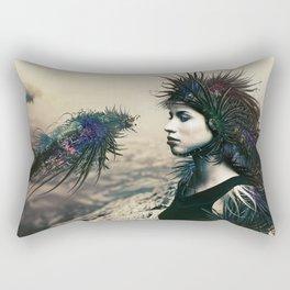 The Last Neuroapache Rectangular Pillow