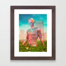 OUT OF THE RIFT (everyday 08.08.16) Framed Art Print