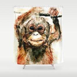 Pongo Shower Curtain